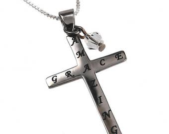 "Crystal Cross ""Amazing Grace"""