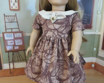 18 Inch Doll Clothes - 1950 Style Dress