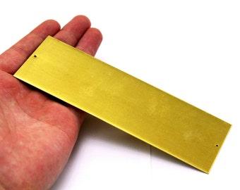 1 pcs 0.80x50x150 mm Raw Brass Bracelet Stamping Blanks, Brass Rectangle, Stamping Blank, Bangles, 2 hole ( 20 Gauge )