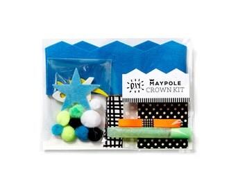 DIY Azure Blue Crown Kit