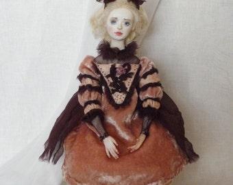 OOAK Boudoir doll Manyasha