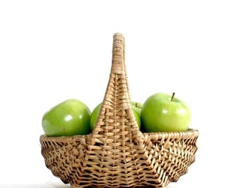 Rattan Fruit Basket, Wicker basket, Easter Basket, Gift Basket