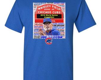 Chicago Cubs World Series Shirt, Wrigley Field Cubs Shirt, Cubs Players Names Shirt, Cubs Roster Shirt, 2016 World Series Cubs Shirt