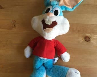 20' Buster Bunny Tiny Toons Plush Dolls 1990 Warner Bros Rare