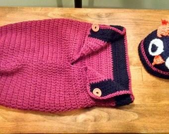 Crochet Owl Bag Etsy