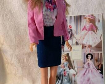 Barbie Pink Stewardess Set Vintage 1990's