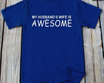 Gifts for Wife Anniversary Gift For Wife Birthday Gift For Wife Christmas Gift For Wife Funny Husband wife Shirt Gifts For Her