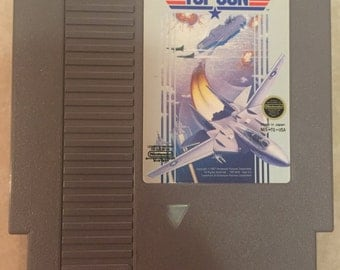 Top Gun Nintendo NES System. Vintage Game. Works Great! 8 Bit