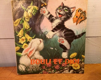 Bouli at Didi Vintage French Children's book 1962