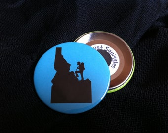 Idaho Bearded Hiker Magnet Set