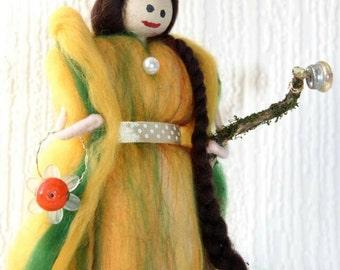 Summer Fairy. Hand made. beautiful soft wool