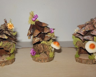 Miniature Fairy Cottages