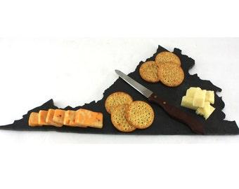 Virginia Slate Cheese Board, Serving Tray, or Cutting Board