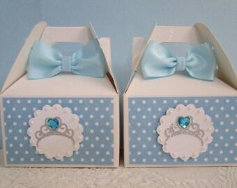 Cinderella Favor Boxes, Princess Favor Boxes, Favor Boxes, Girl Birthday Favor Boxes, Frozen Favor Boxes, Princess Party Favors, Party Favor