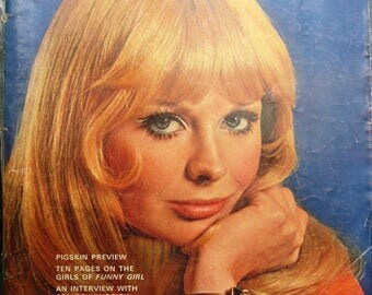 Playboy September 1968 very good condition, few light creases on cover FREE SHIPPING