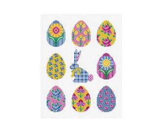 Easter Sampler - Durene J Cross Stitch Pattern