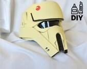 Rogue One: A Star Wars Story - Shoretrooper helmet templates for EVA foam