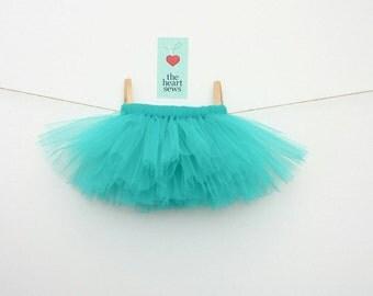 Teal Tutu, Turquoise Tutu, Baby Girl Tutu, Newborn Tutu, Teal, Baby Girl, Newborn, Girl, Tutu