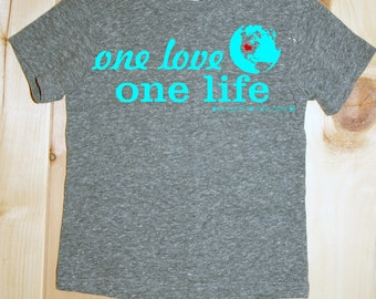 one life, one love, one earth to take care of- tee