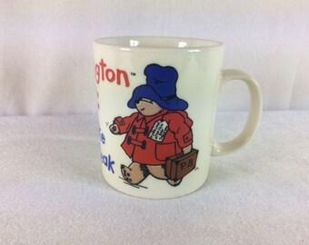 Paddington Bear Mug 1994 Bear Mug Paddington Take A Break Vintage Paddington Bear Mug