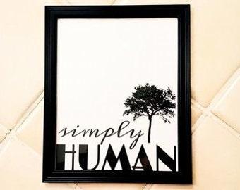 Wall Decor - SIMPLY HUMAN
