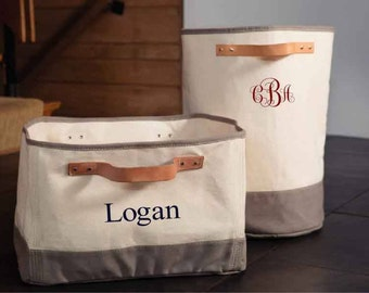 Monogrammed Storage Tub, Monogrammed Hamper, Storage Bin, Laundry Hamper, Laundry Basket, Monogrammed Laundry Hamper