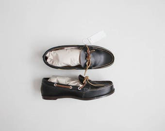 black leather loafers | size 8.5 loafers | size 8.5 shoes
