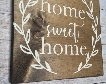 home sweet home, home sweet home sign, rustic home sweet home, wooden home sweet home sign