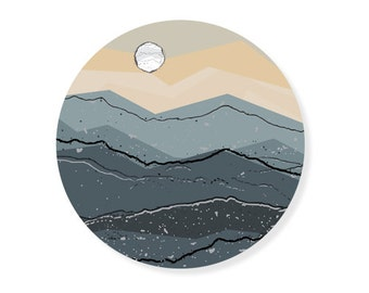 Mountain Stickers, Laptop Stickers, Laptop Decal, Car Decal, Car Sticker, Travel Sticker, Adventure Sticker, Adventure Decal, Vinyl Decal
