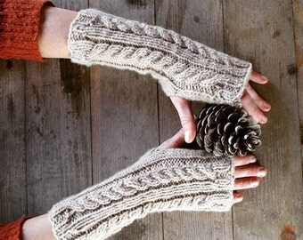 Gloves | Fingerless gloves | Girl gift | Long Arm Warmers | Handmade | Wrist warmers