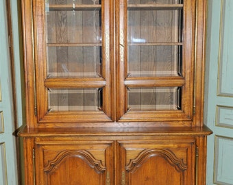 Antique French Dining Room Cabinet Pantry Furniture Solid Oak 6506