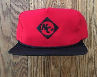 Vintage NC+ Snapback Hat Baseball Cap