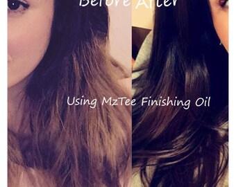Natural Hair Moisture Serum/Hair Gloss Serum & Finishing Growth Oil/Repair Oil/Volume Oil/Hot Oil Treatment 30ML Try Me Size