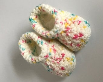 Ready to Ship Baby Crochet Booties