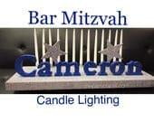 Bar Mitzvah Candle Lighti...