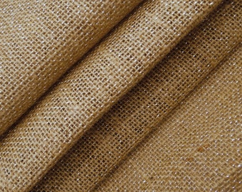 "Beige Burlap, Rustic Fabric, Sewing Crafts, Beige Jute Fabric, Home Accessories, Natural Fabric, 48"" Inch Burlap Fabric By The Yard ZJC34A"