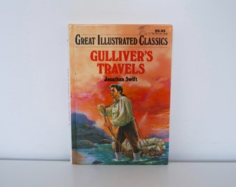 Gulliver's Travels (1995) - Great Illustrated Classics book