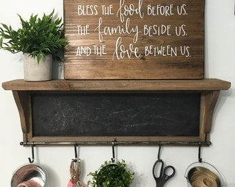 Bless The Love - Wood Sign