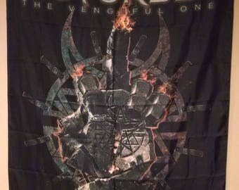 Disturbed The Vengeful One Official Cloth Textile Fabric Poster Flag Tapestry Wall Banner FREE SHIPPING-David Draiman-New!