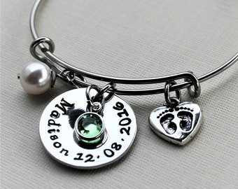 mothers jewelry, personalized mothers jewelry, mothers name jewelry, mothers name and date jewelry, mothers day gift, mothers child name