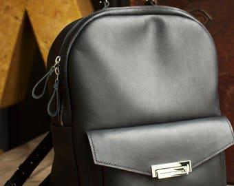 Leather Backpack, Women's Backpack - VAJU Hand Made