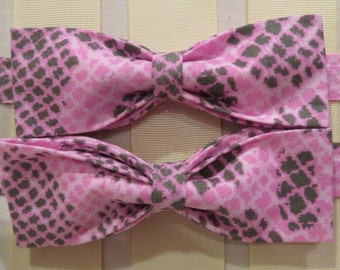 Pink Panther Bow Tie
