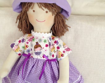 trapo.57cm-22.5inch fabric doll. waldorf. handmade dolls. fabric dolls. cloth rag doll.muneca