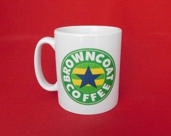 Firefly Browncoats Starbucks Inspired Coffee Tea Mug 10oz