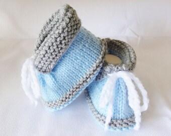 tennis babies blue and yellow woolen