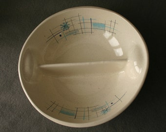 """Rare  Oasis by Franciscan 8"""" Divided Vegetable Bowl"""