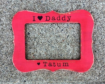 father's day frame, fathers frame, father's day gift, gift for daddy, dad gift, i love daddy, new dad gifts, baby shower gifts