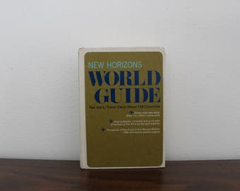 Vintage World Guide Hardcover Book / Travel Facts