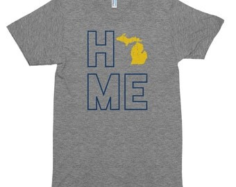 Michigan Home Triblend Super-Soft T-Shirt