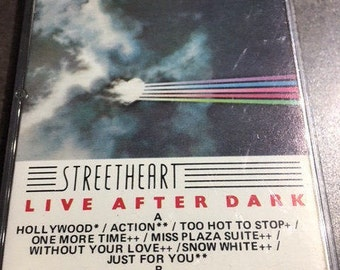 StreetHeart Live After Dark Cassette Tape 1983